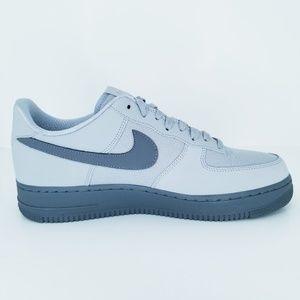 Nike Air Force 1 '07 Low TXT Wolf GreyCool Grey A NWT